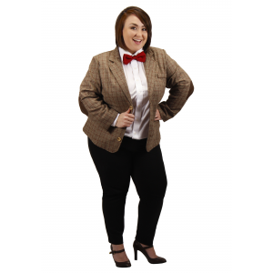 Plus Size Eleventh Doctor Women's Costume Jacket