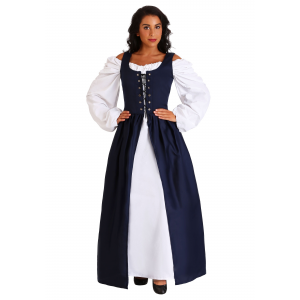 Navy Irish Renaissance Dress Costume