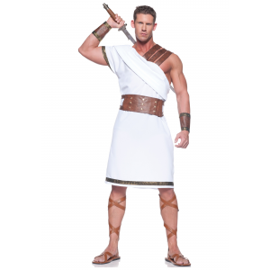 Plus Size Greek Warrior Costume 2X