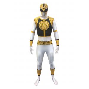 Power Rangers: White Ranger Morphsuit Costume
