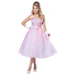 Adult Women's 50s Prom Beauty Costume