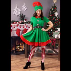 Women's Holiday Elf Costume
