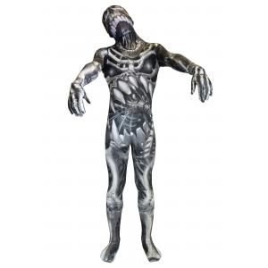 Kid's Skull and Bones Skeleton Morphsuit Costume