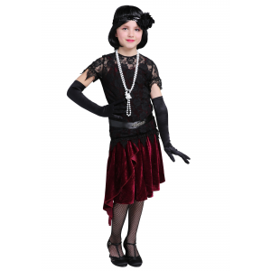 Toe Tappin' Flapper Costume for Girls