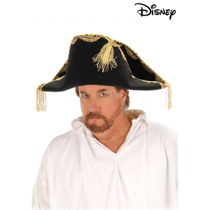 Barbossa Pirate Hat for Adults