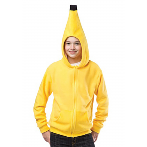 Teen Banana Hoodie Costume