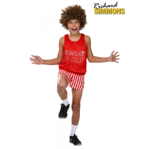 Child Workout Video Star Costume