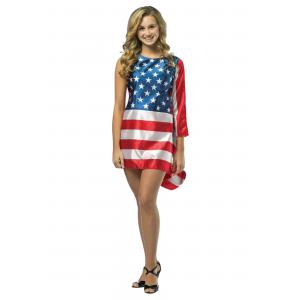Flag Dress Costume for Teens