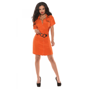 Women's Lock Up Prisoner Costume