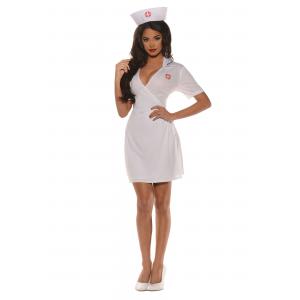 Women's Plus Size Doctor's Orders Nurse Costume 2X