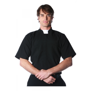 Plus Size Priest Shirt 2X