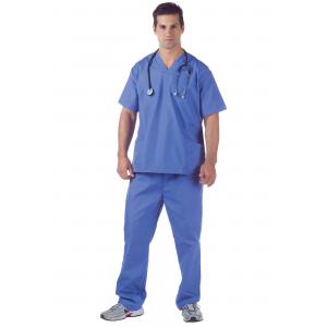 Plus Size Doctor Scrubs Costume 2X