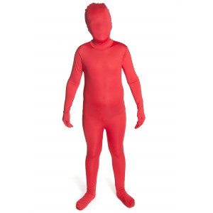 Child Red Morphsuit Costume