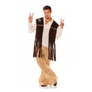 Fringe Hippie Vest Adult Costume