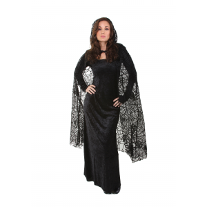 Sheer Spiderweb Cape