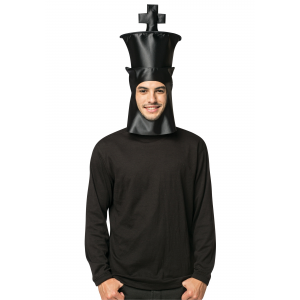King Chess Piece Headpiece for Adults