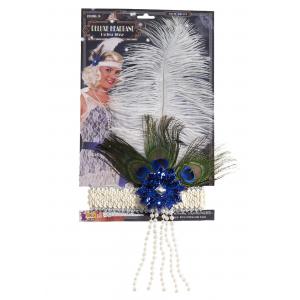 Peacock Flapper Headband