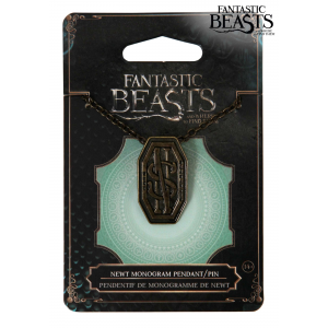 Newt Scamander Monogram Pendant Pin