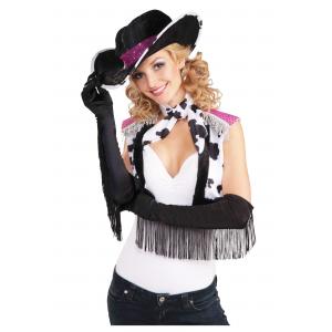 Fringe Cowgirl Gloves