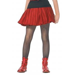 Kids Black Fishnet Stockings