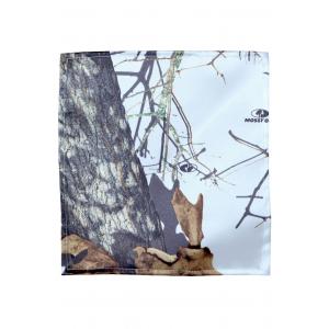 White Mossy Oak Pocket Square