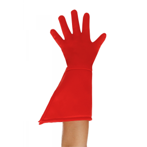 Child Red Superhero Gloves