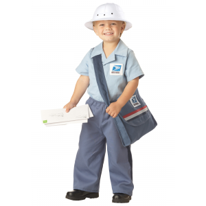 Toddler Mr. Postman Costume