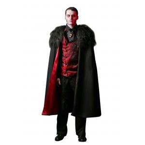 Plus Size Deluxe Men's Vampire Costume 2X 3X