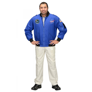 NASA Apollo 11 Flight Jacket Costume for Adults