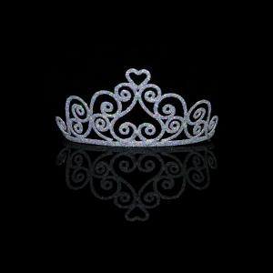 Adult Sparkle Heart Tiara
