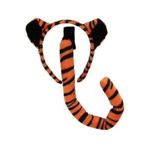 Tiger Ears & Tail Set