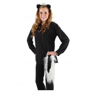 Skunk Ears & Tail Set