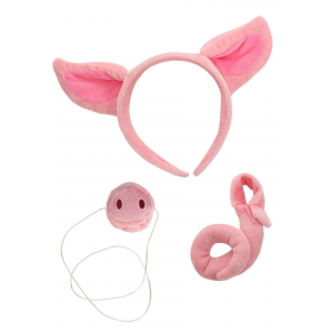 Pig Nose Ears and Tail Set