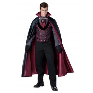 Men's Nocturnal Count Vampire Costume