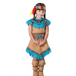 Girls Toddler Native American Costume