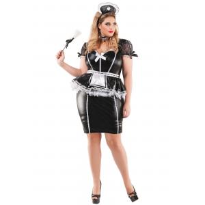 Plus Size Mistress Maid Costume for Women 1X 2X 3X 4X XL XXL XXXL XXXXL
