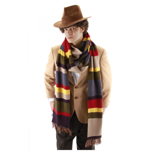 Fourth Doctor Who Long Scarf