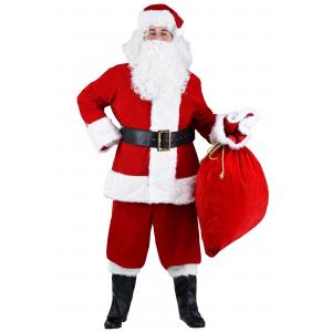 Plus Size Premiere Santa Suit Costume 2X 3X 4X 5X 6X 7X