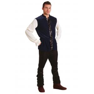 Plus Size Renaissance Tavern Man Costume 2X 3X 4X 5X 6X