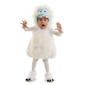 Child Snow Monster Costume