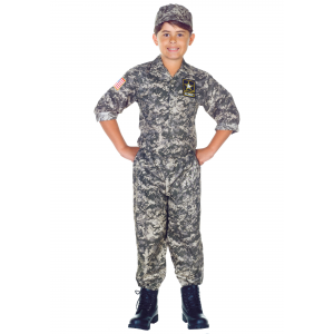 Child Army Camo Costume