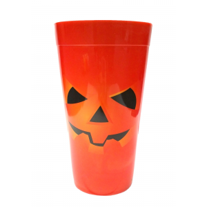 Orange Pumpkin Party Cup