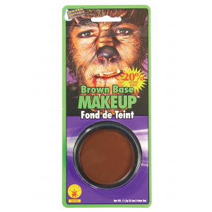 Rubies Brown Base Makeup