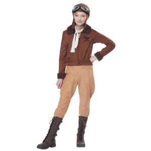 Child Amelia Earhart/Aviator Costume