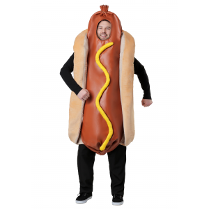 Hot Dog Costume for a Plus Size Adult
