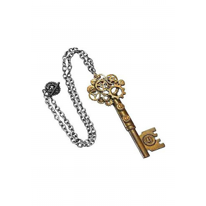 Adult Large Key Gear Necklace