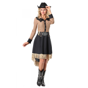 Lasso'n Cowgirl Plus Size Costume for Women 1X 2X