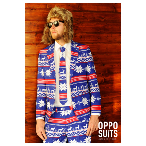 Men's Ugly Christmas Sweater Suit OppoSuits Costume