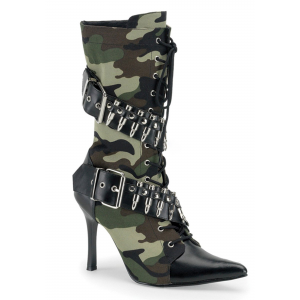 Women's Army Lace Up Boots