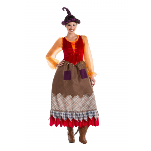 Goofy Salem Sister Witch Costume for Women